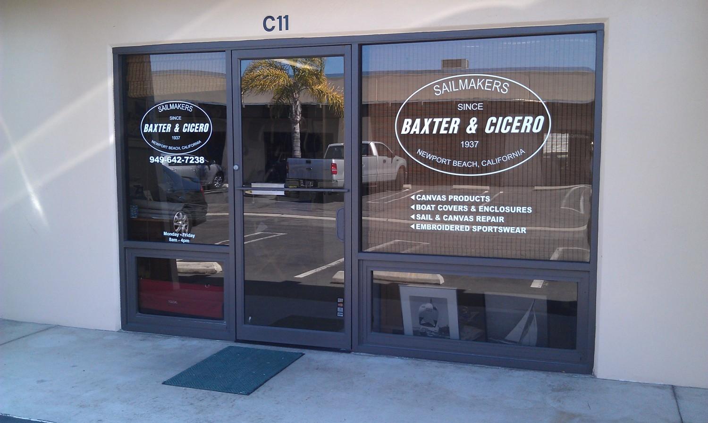 Baxter and Cicero storefront
