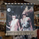 Canvas retail display for Billabong