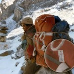 Duffle carried by Sherpa
