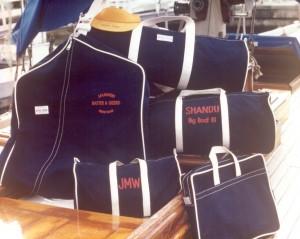 Canvas luggage