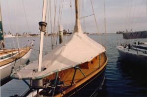 Sunbrella boat awning