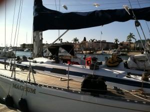 sailboat dodger