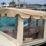 Duffy electric boat enclosure
