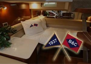 Club burgee and house flag embroidery