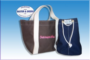 Tote bag and ditty bag